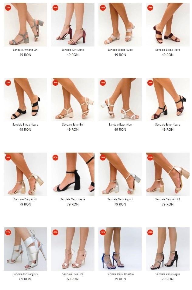 sandale depurtat 2020