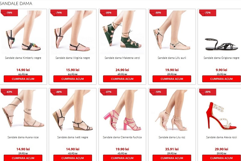 sales sandale dama