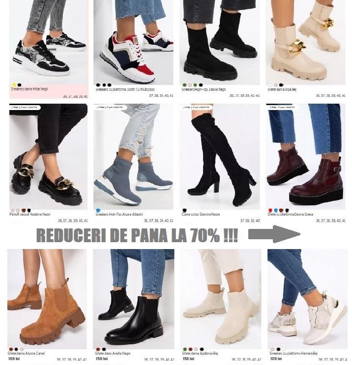 promotii zapatos incaltaminte dama