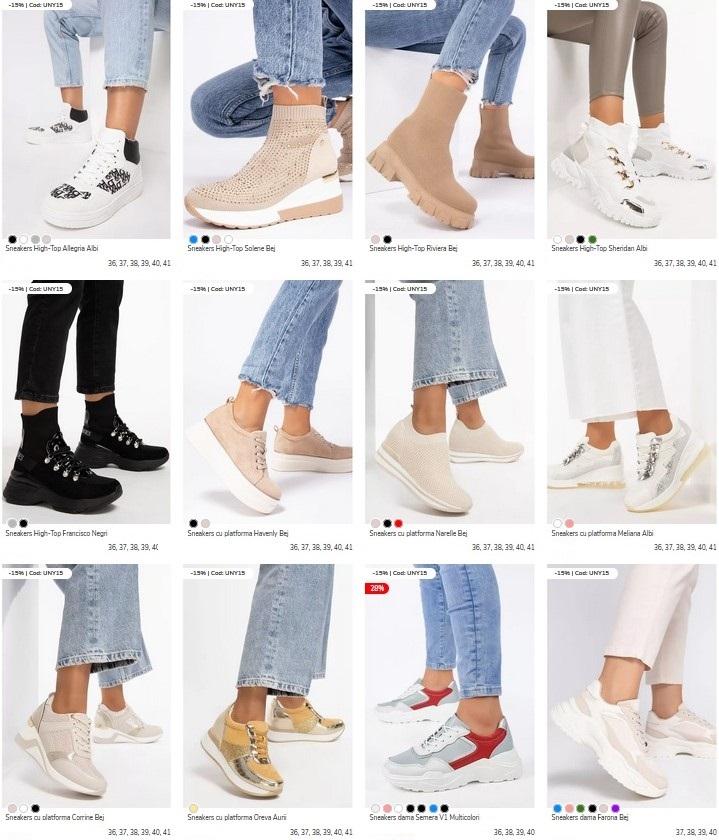 sneakers dama zapatos
