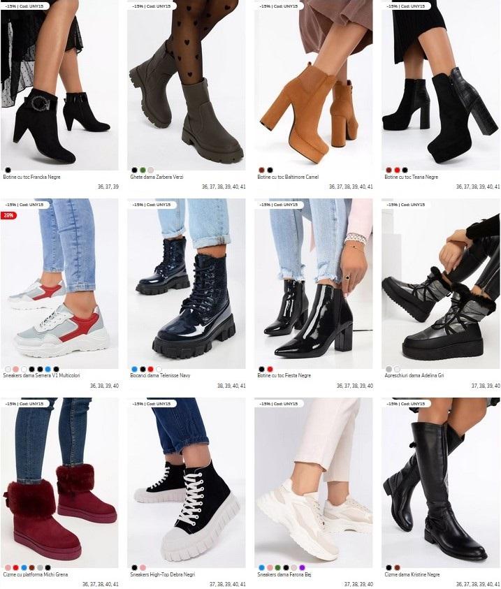 incaltaminte zapatos toamna iarna